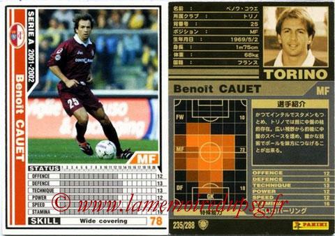 N° 235 - Benoit CAUET (1996-97, PSG > 2001-02, Torino, ITA)