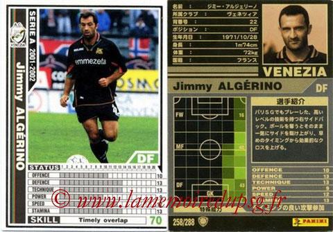 N° 258 - Jimmy ALGERINO (1996-01, PSG > 2001-02, Venezia, ITA)
