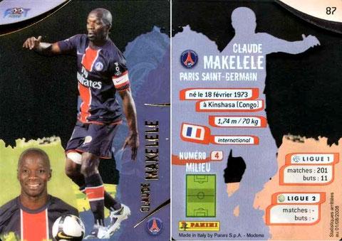 N° 087 - Claude MAKELELE