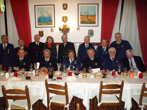 Direttivo ANMI con C.N. Seppi e delegazione marinai austriaci
