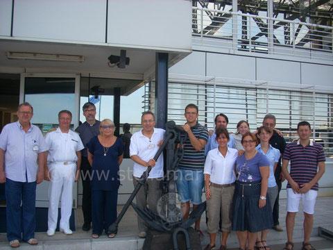 Volontari con C.A. Basile in Cap. di Porto Trieste