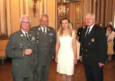 Markus Salvator Asburgo Lorena con consorte