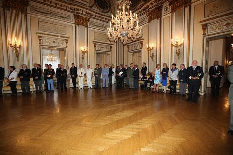 Invitati all'ambasciata d'Italia
