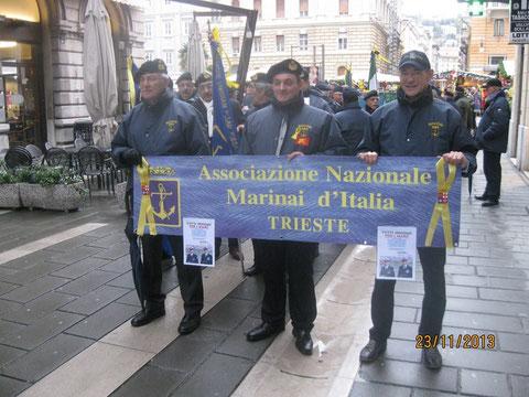 Trieste Marcia pro Marò.