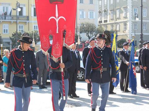 Gonfalone di Trieste.