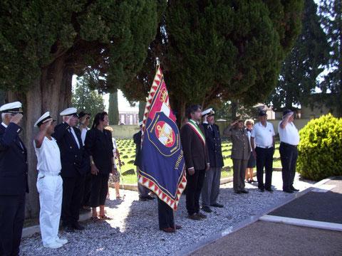 Corona al Cimitero Austroungarico di Fogliano Redipuglia