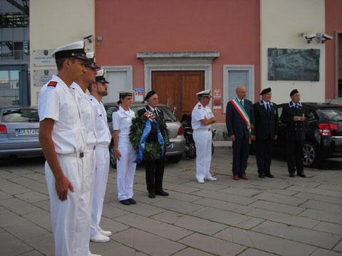 9 settembre 2010 Cerimonia per i dispersi di Nave Berenice