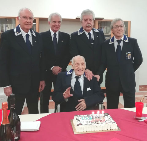 Il socio Vittorio ZANON HA FESTEGGIATO I SUOI 103 ANNI