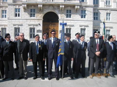 Festa della Repubblica. Piazza Unità Trieste