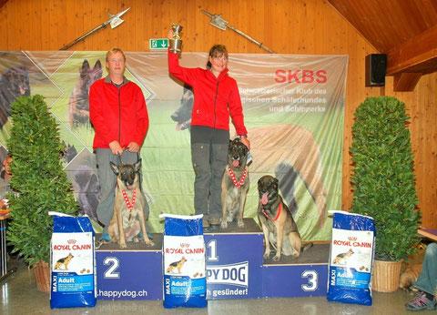 Schweizermeisterschaft SKBS Thun 01.11.2014, 2. Rang VPG