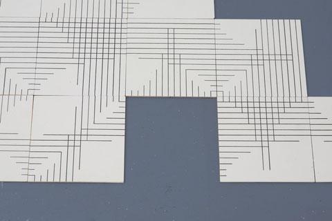 fib(1; 1; 2; 3; 5; 8; 13) (Detail)
