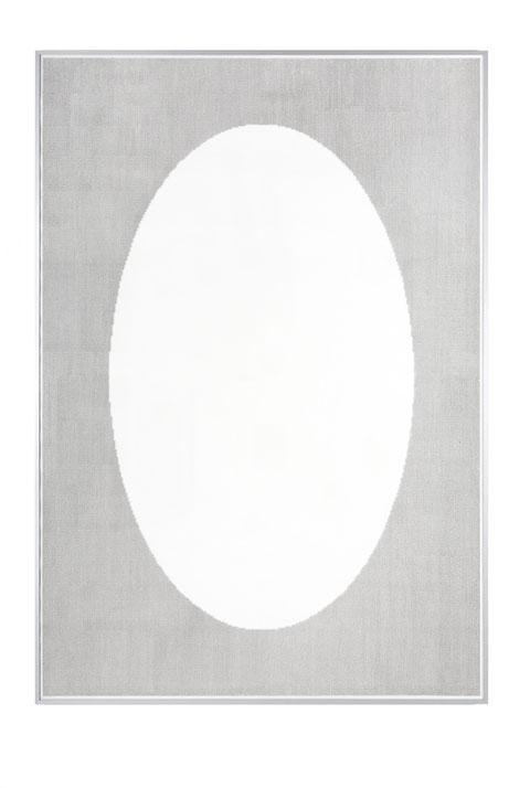 Innere Leere, 215 x 150 cm, Tusche auf Papier, 2012