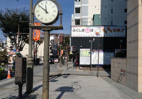 パセオ通り横断歩道