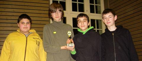 Wettkampfgruppe Realschule 1. Platz Raichberg-Realschule