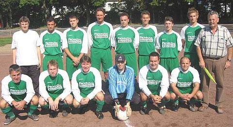 Saison 2008/2009 Brinkschulte, Wiechen, S.Nitz, Büsing, Degener, Maas, D.Nitz, Faust, Trapp, u. v.Germeten, Richter,Midasch, Grammel, Klein, Ornelas