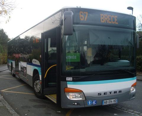 N° 09 104 - Brécé (Anjou) - Photo Brécéen