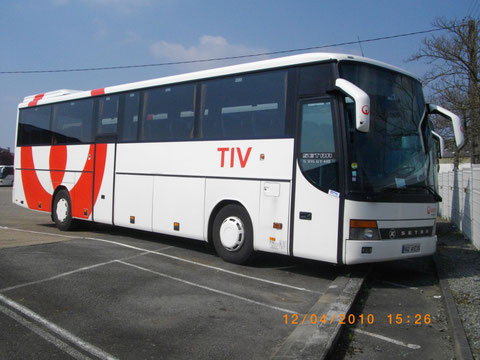Setra S 315 GT-HD n° 7694 - 162 AYZ 35 - Dépôt TIV - Véolia - Photo Vieuxgo