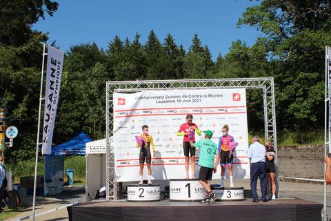 Marlen Reusser (RV Ersigen) 1. Rang und Fabienne Buri (RV Ersigen) 3. Rang Frauen Elite