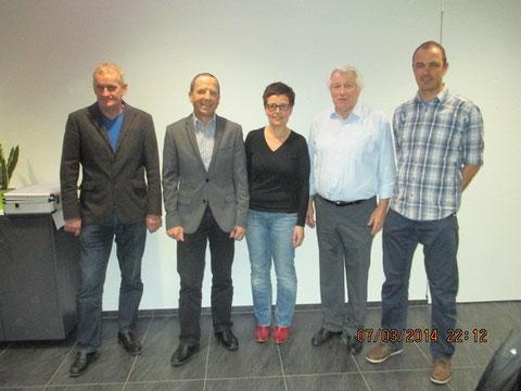Die Verbandsleitung der Saison 2014.