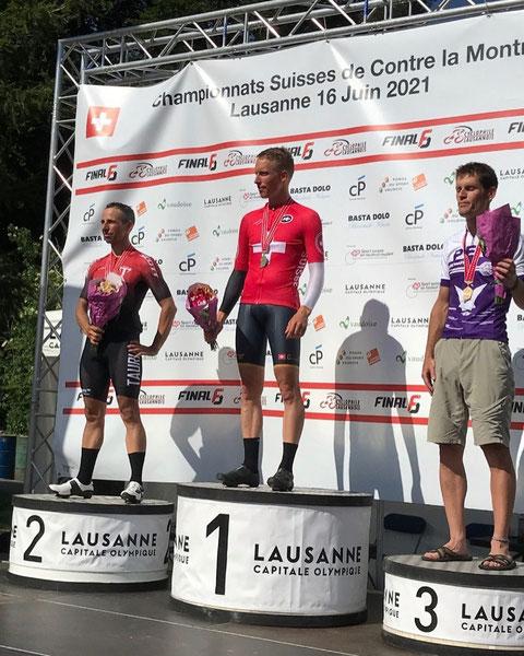 Marcel Wyss (Cycling Unit) - 1. Rang Masters