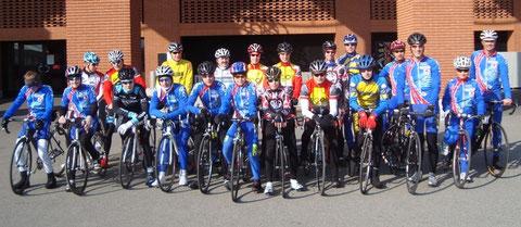 Der Nachwuchs von Swiss Cycling Bern in Tenero