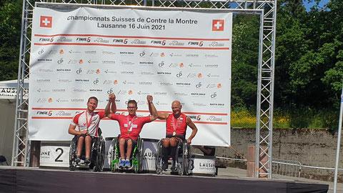Fabian Recher (Spiez) - 1. Rang Paracycling Handbike