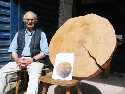 Schreinermeister Erich Obermaier, 80 Jahre aus Siggenhofen
