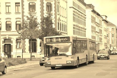Die 312 auf der Gießerstraße