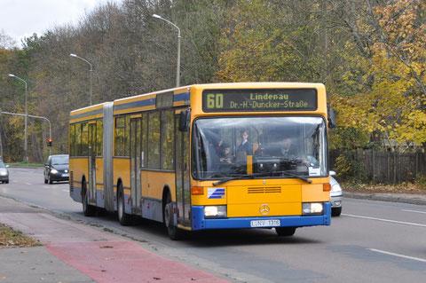 316 auf dem Schleußiger Weg