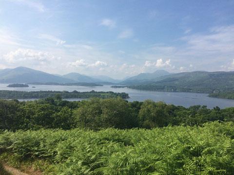 Blick über den Loch Lomond