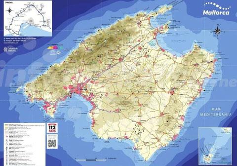 Mallorca Karte Download infomallorca.net