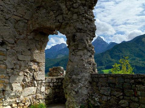 Auf der Burg Gallenstein bei St. Gallen in der Steiermark