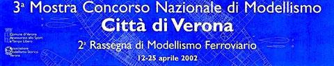3°Mostra città di Verona 2002