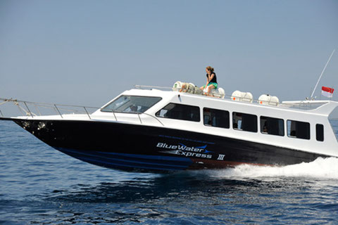 BWS. Blue Water Express, Bali and lombok by Fast Boat, fast catamaran service, luxury cruise