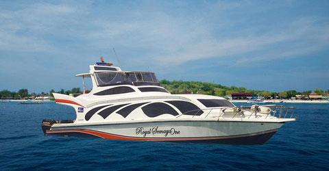 Semaya One Fast Cruises, Luxury Fast Boat from bali To Lombok & Gili Islands