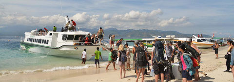 Eka Jaya Fastboat, Daily fastboat service from Bali to Gili Islands and Lombok