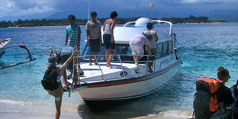 Kuda Hitam Express Fast Boat, The only fast boat direct from Amed to Lombok and Gili Islands