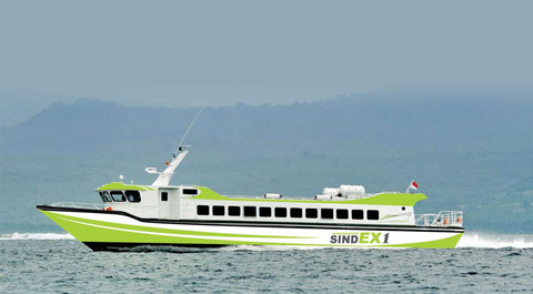 Sindu Express Fast Boat (Sindex), Direct Fast Boat from padang bai to Lombok and Gili islands
