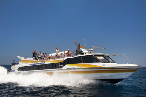 Marina Srikandi Fast Boat, Bali and Lombok Cruise, Luxury sea Transfers