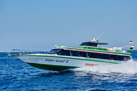 Scoot Fast Boat, Fast cruise for Bali, Lombok, Gili Trawangan and Gili Air