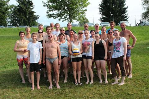 Beachvolleyball Ortsmeisterschaften 2014