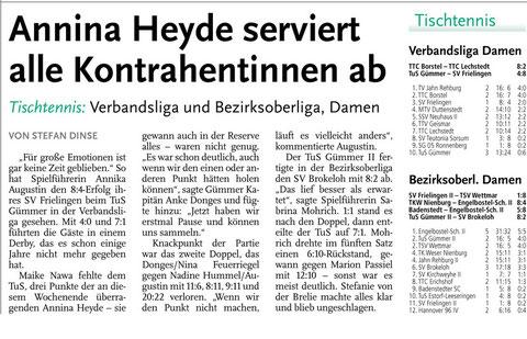 Neue Presse vom 16.09.2013