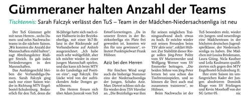 Neue Presse vom 24.06.2013