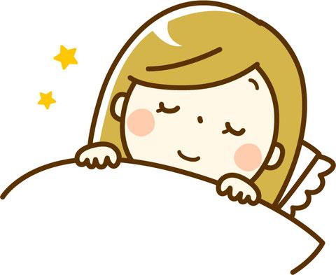 すこやかな睡眠 快眠 good sleep