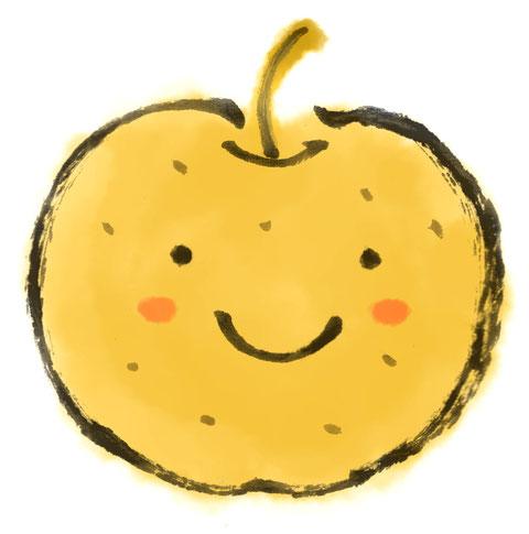 笑顔 梨 美味しい delicious pear