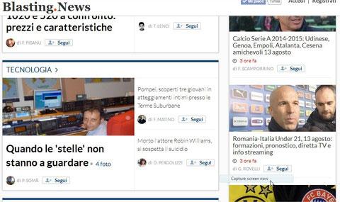 Giornale telematico Blasting.News