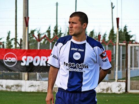Guillermo Aguero, uno de los nuevos refuerzos.