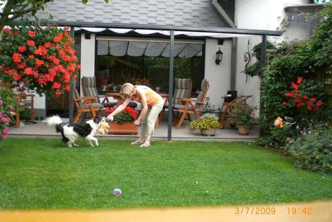 Spiel im Garten