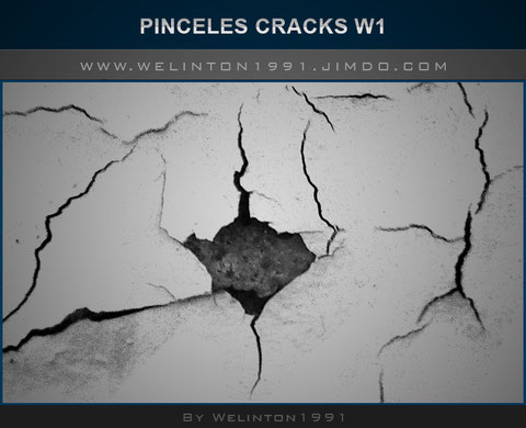 Pinceles Grietas W1 ,photoshop · Diseños · Recursos · Pinceles · 34