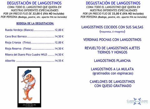 XV FERIA DEL LANGOSTINO RESTAURANTE LA MULATA